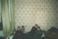 Маленькие владивостокские бейсболисты в своём гостиничном номере, если его можно так назвать. Зато дёшево. Гостиница под трибунами стадиона, где изредка играют в бейсбол.