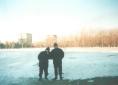 Во время зимних соревнований по бейсболу, которые проходили в спорткомплексе Полёт в городе Арсеньеве.