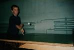 Бейсболист Витя Диденко играет не только в бейсбол, но и в теннис. Гостиница под трибунами стадиона, где изредка играют в бейсбол.