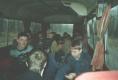 Бейсболисты Владивостока в автобусе во время поездки в Арсеньев на Чемпионат приморского края по бейсболу