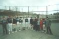 Бейсболисты бейсбольного клуба Флибустьеры перед очередной игрой Чемпионата клуба по бейсболу.